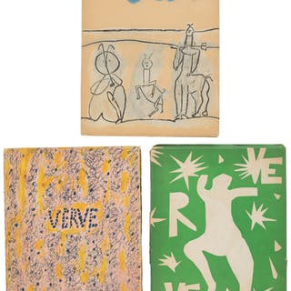 [Henri Matisse, Pablo Picasso, and Pierre Bonnard]. THREE ISSUES OF