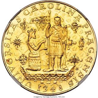 Republic gold 5 Dukaten 1978 MS67 NGC,...