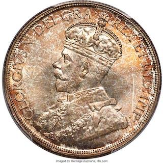 George V Dollar 1936 MS67 PCGS,...