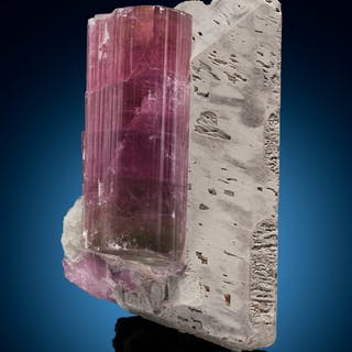 Elbaite on Microcline Himalaya Mine, Gem Hill, Mesa Grande District