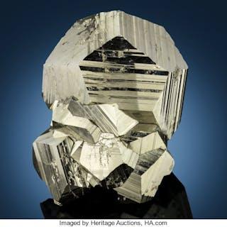 "Pyrite ""Pyritohedron"" Huanzala Mine, Huallanca, Huallanca District"