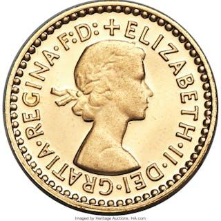 "Elizabeth II 13-Piece gold ""Golden Jubilee"" Proof Set 2002,... (Total:"