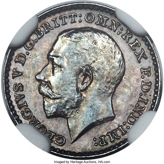 George V 8-Piece Certified silver Proof Set 1911 NGC,... (Total: 8 coins)