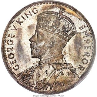 "George V Proof ""Waitangi"" Crown 1935 PR65 PCGS,..."