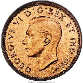 George VI 6-Piece Certified Mirror Finish Specimen Set 1937 PCGS,...