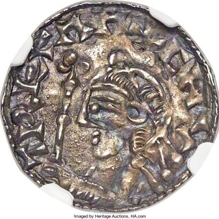 Kings of All England. Harthacnut (Sole Reign) Penny ND (1040-1042) AU50 NGC,...