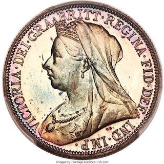Victoria Proof Florin 1893 PR65+ Cameo PCGS,...