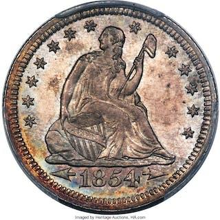 1854 25C ARROWS