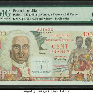 French Antilles Institut d'Emission des Departements d'Outre-Mer 1