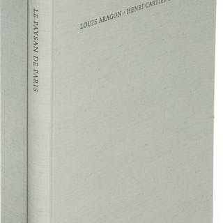 [Limited Editions Club]. Louis Aragon. Le Paysan de Paris. New York: