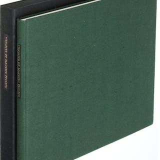 [Limited Editions Club]. Pablo Neruda. Heights of Macchu Picchu. New