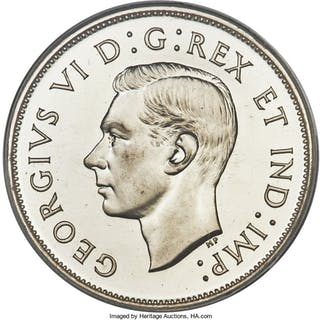 George VI Specimen 50 Cents 1946 SP67 PCGS,...