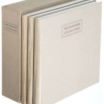 [Limited Editions Club]. Günter Grass. The Flounder. New York: 1985.
