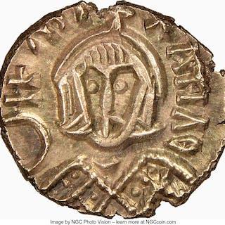 Michael III the Drunkard (AD 842-867). EL semissis (13mm, 1.58 gm