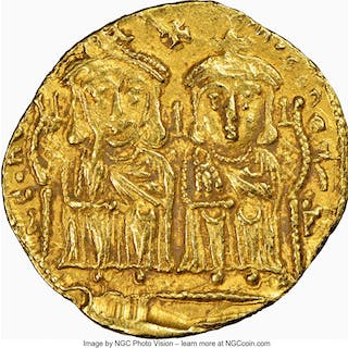 Leo IV the Khazar (AD 775-780), with Constantine VI, Leo III, and