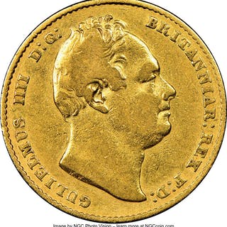 William IV gold Sovereign 1832 VF30 NGC,...