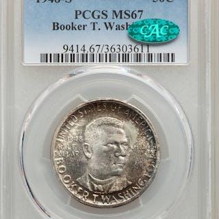 1948-S 50C Booker T. Washington, MS