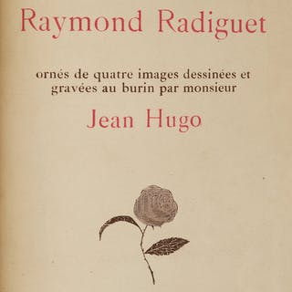 Raymond Radiguet, LES JOUES EN FEU. Paris: François Bernourd, 1920
