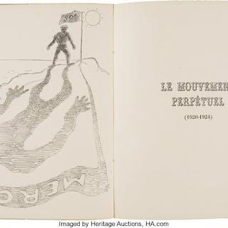 Louis Aragon, LE MOVEMENT PERPÉTUAL, POÈMS (1920-1924). Paris: Librairie