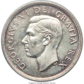 George VI Dollar 1948 MS62 PCGS,...