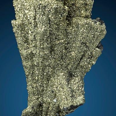 Pyrite on Enargite Quiruvilca Mine, Quiruvilca District, Santiago
