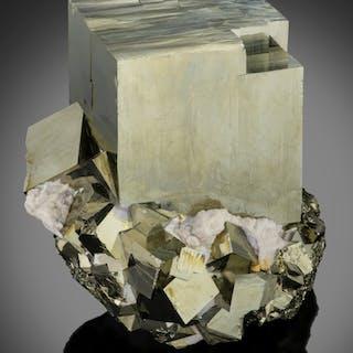 """Pyrite """"Large Cube"""" Shangbao Mine, Leiyang Co., Hengyang, Hunan, China"""