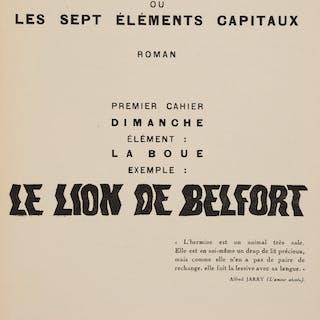 Max Ernst. Une Semaine de Bonté. Ou les Sept Éléments Capitaux. Paris: