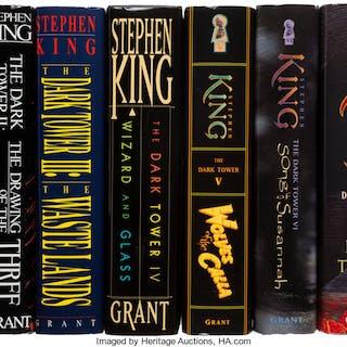 Stephen King. [The Dark Tower], comprising: The Gunslinger. West Kingston: