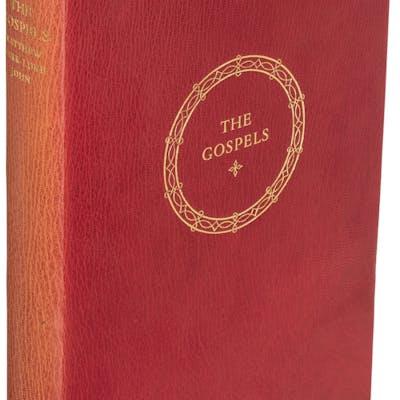 [Officina Bodoni]. The Holy Gospel According to Matthew, Mark, Luke