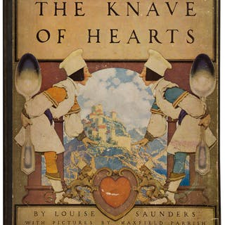[Maxfield Parrish, illustrator]. Louise Saunders. The Knave of Hearts.