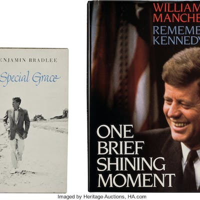 [Jacqueline Kennedy Onassis]. Pair of Books from the Library of Jacqueline