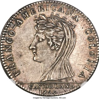 1796 Castorland Medal, Silver