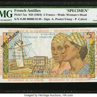 French Antilles Institut d'Emission des Departements d'Outre-Mer 5