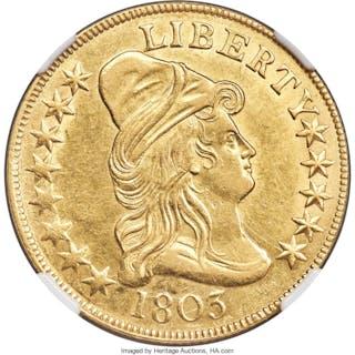 1803 $10 BD-3