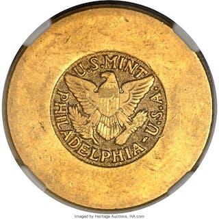 Abd al-Aziz bin Saud gold 4 Pounds ND (1945-1946) AU58 NGC,...
