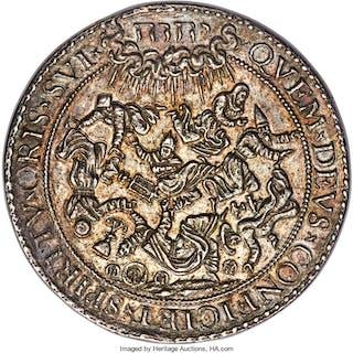 "Elizabeth I (1558-1603) silver ""Protestants Supported in Belgium"""