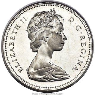 Elizabeth II Dollar 1965 MS67 PCGS,...