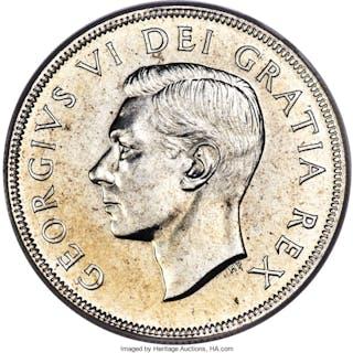 George VI Dollar 1949 MS67 PCGS,...