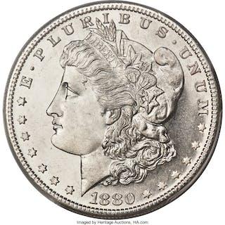 1880/79-S $1 VAM-8, Medium S, MS