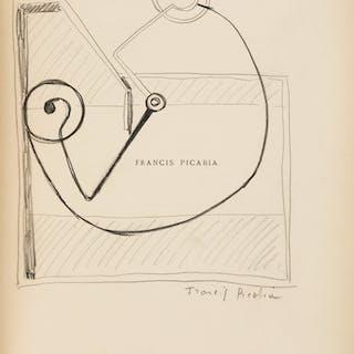 [Francis Picabia]. Marie de la Hire, FRANCIS PICABIA. Paris: La Cible