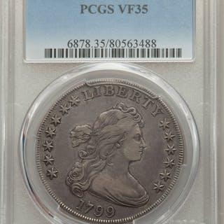 1799 $1 B-12, BB-160, MS