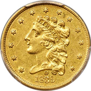 1839-O $2 1/2