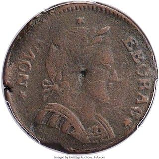 1787 Nova Eborac Copper, Small Head, BN