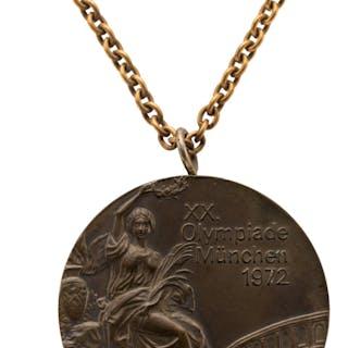 1972 Munich Summer Olympics Bronze Medal.