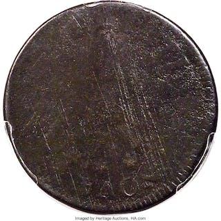 1786 Nova Constellatio Copper, Pointed Rays, BN
