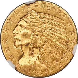 1909-O $5