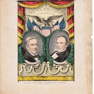 Fillmore & Donelson: Jugate Grand National Banner. ...