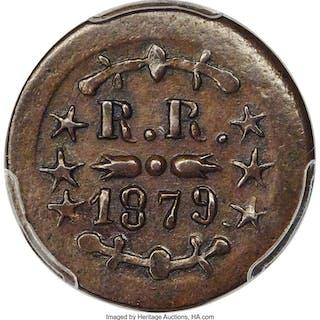 1879 12-1/2C Hawaii, Hobron, 6/2, MS