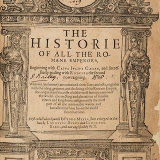 Pedro Mexia. The Historie of All the Romane Emperors. London: 1604.