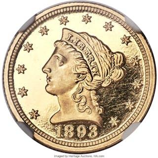 1893 $2 1/2, DC